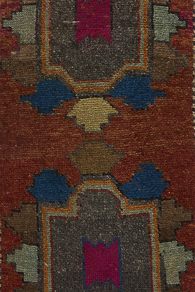 No. 730 Mini Rug - 1'6'' x 3'3'' - Canary Lane - Curated Textiles