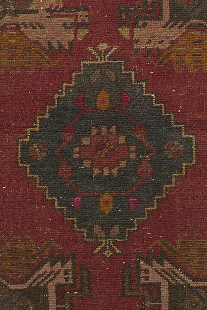 "No. 760 Mini Rug - 1'9"" x 3'4"" - Canary Lane - Curated Textiles"