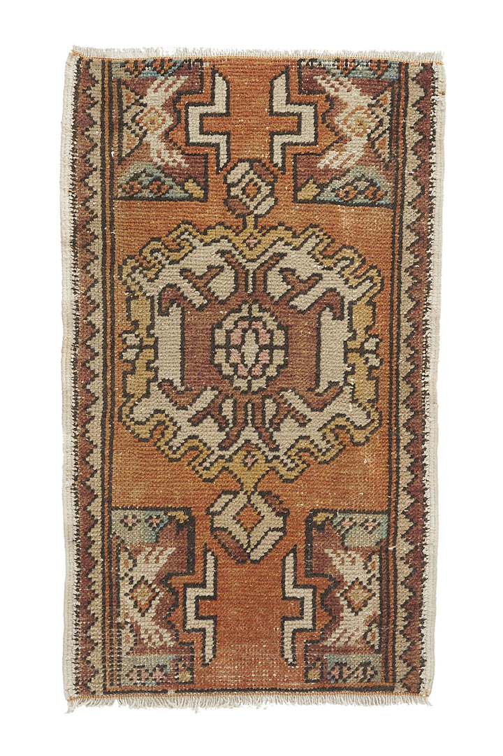 YR-0419-956 No. 956 Petite Rug - Canary Lane - Curated Textiles