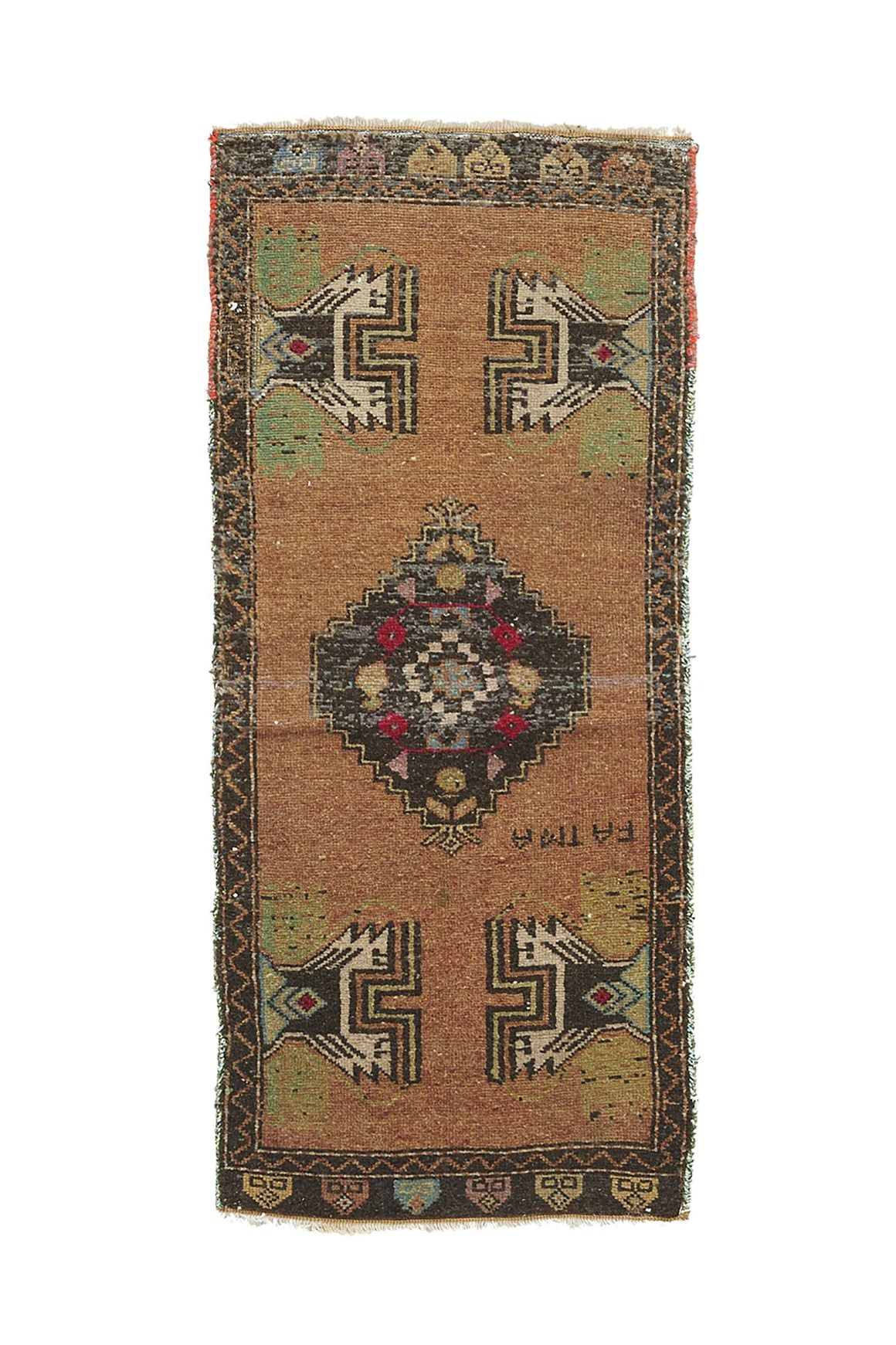YR-0419-966 No. 966 Petite Rug - Canary Lane - Curated Textiles