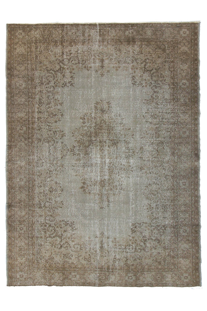 "'Harper' Vintage Rug - 7'3"" x 10'5"" - Canary Lane - Curated Textiles"