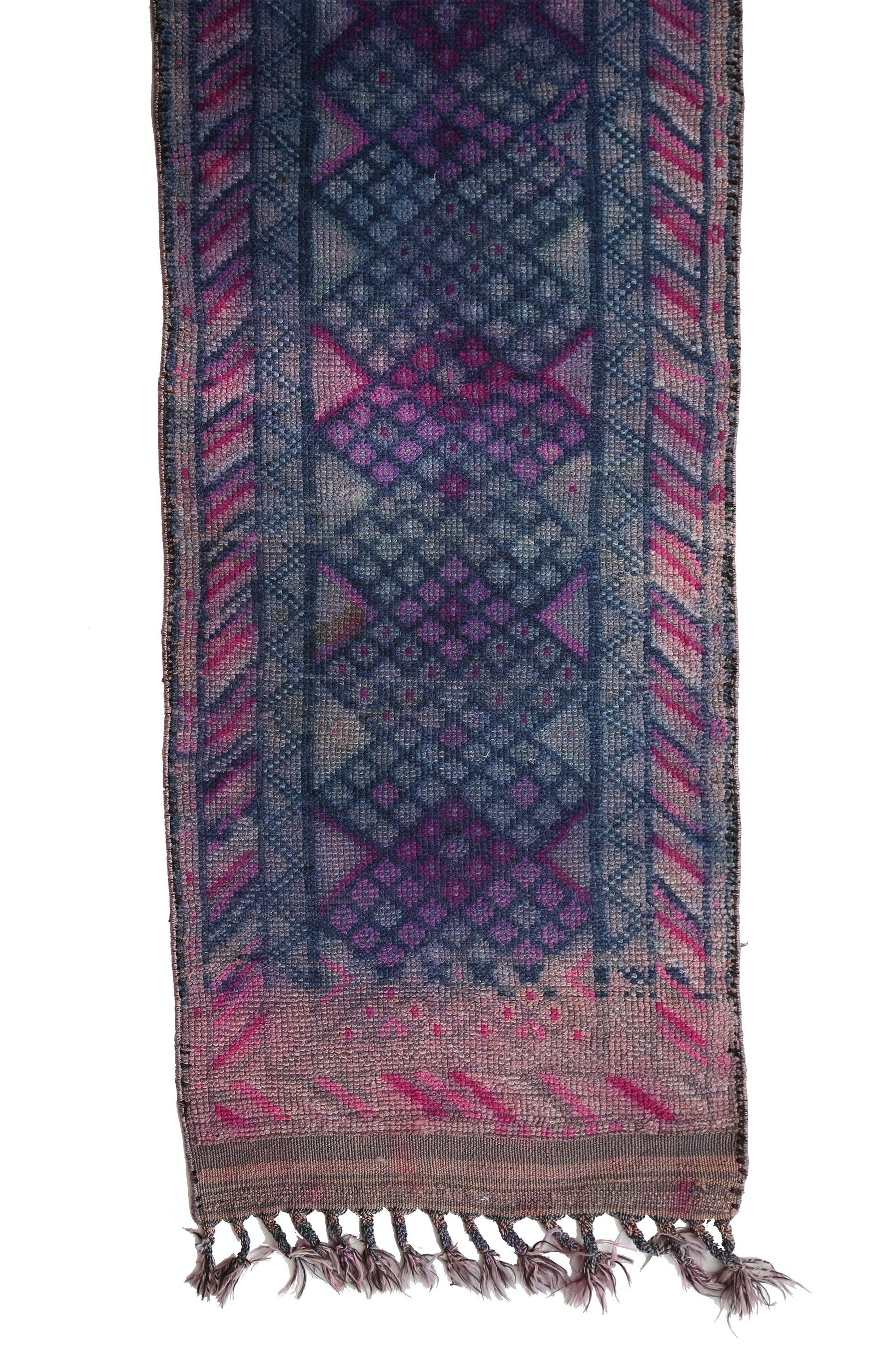 Canary Lane Tribal Antique Vintage Bluebell Rug One Of A Kind