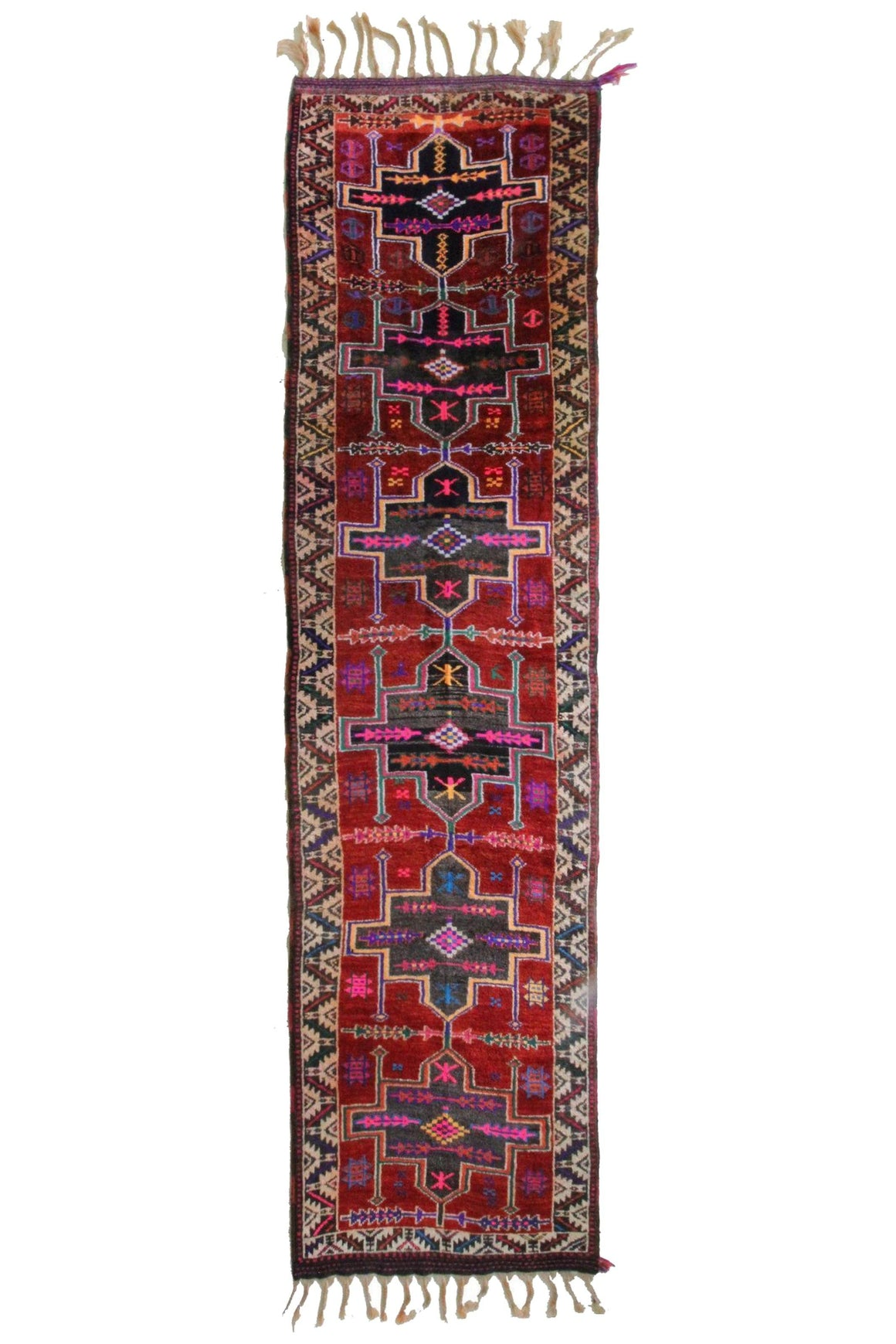 'Hollyhock' Turkish Runner - Canary Lane - Curated Textiles