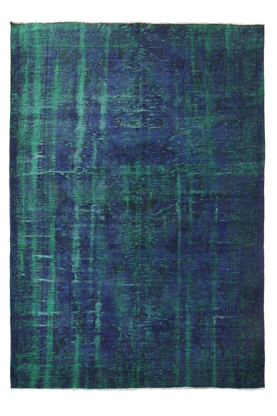 'Malachite' Overdye Rug - Canary Lane - Curated Textiles