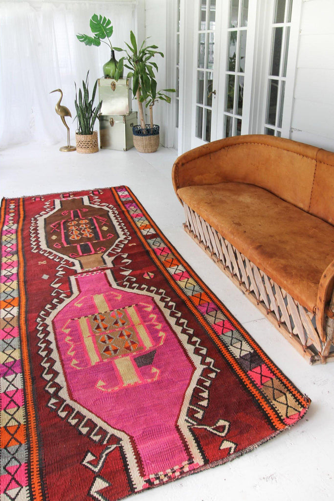'Marisol' Kilim - Canary Lane - Curated Textiles