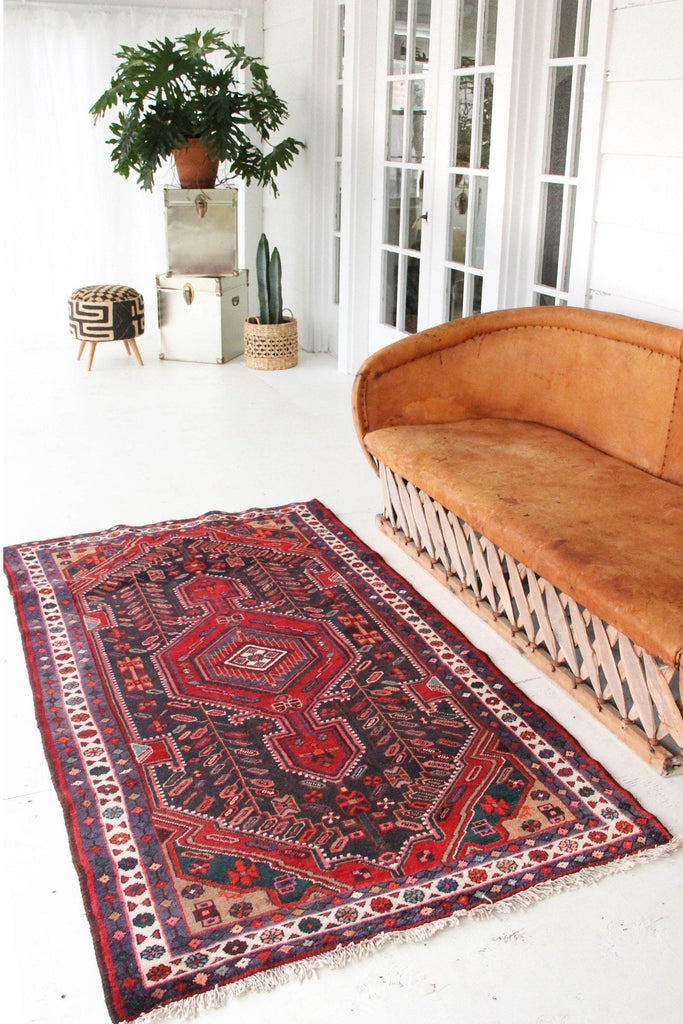 'Milly' Persian Rug - Canary Lane - Curated Textiles