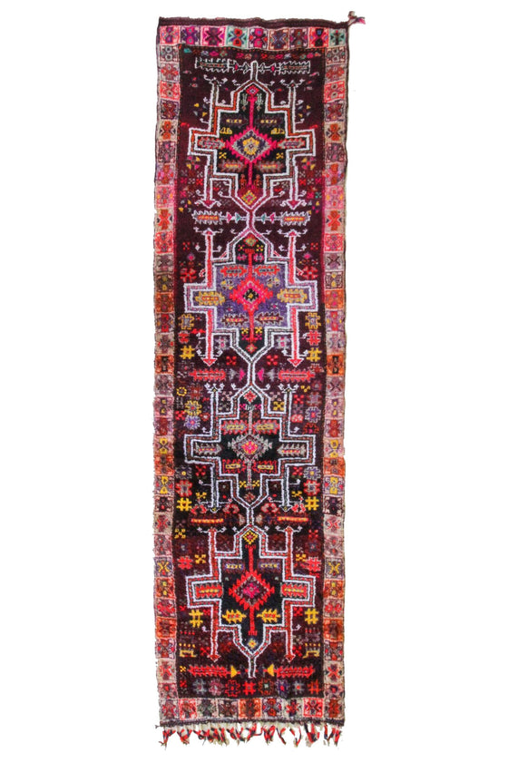 'Sahara' Tribal Turkish Runner - Canary Lane - Curated Textiles