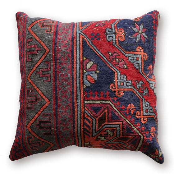 Sumac Pillow No. 14 - Canary Lane - Curated Textiles