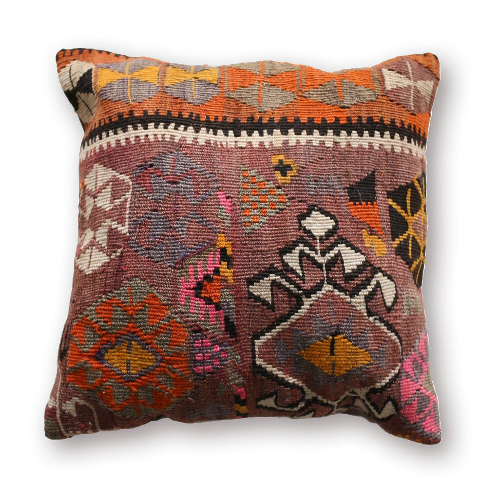 Kilim Pillow No. 05 - Canary Lane - Curated Textiles