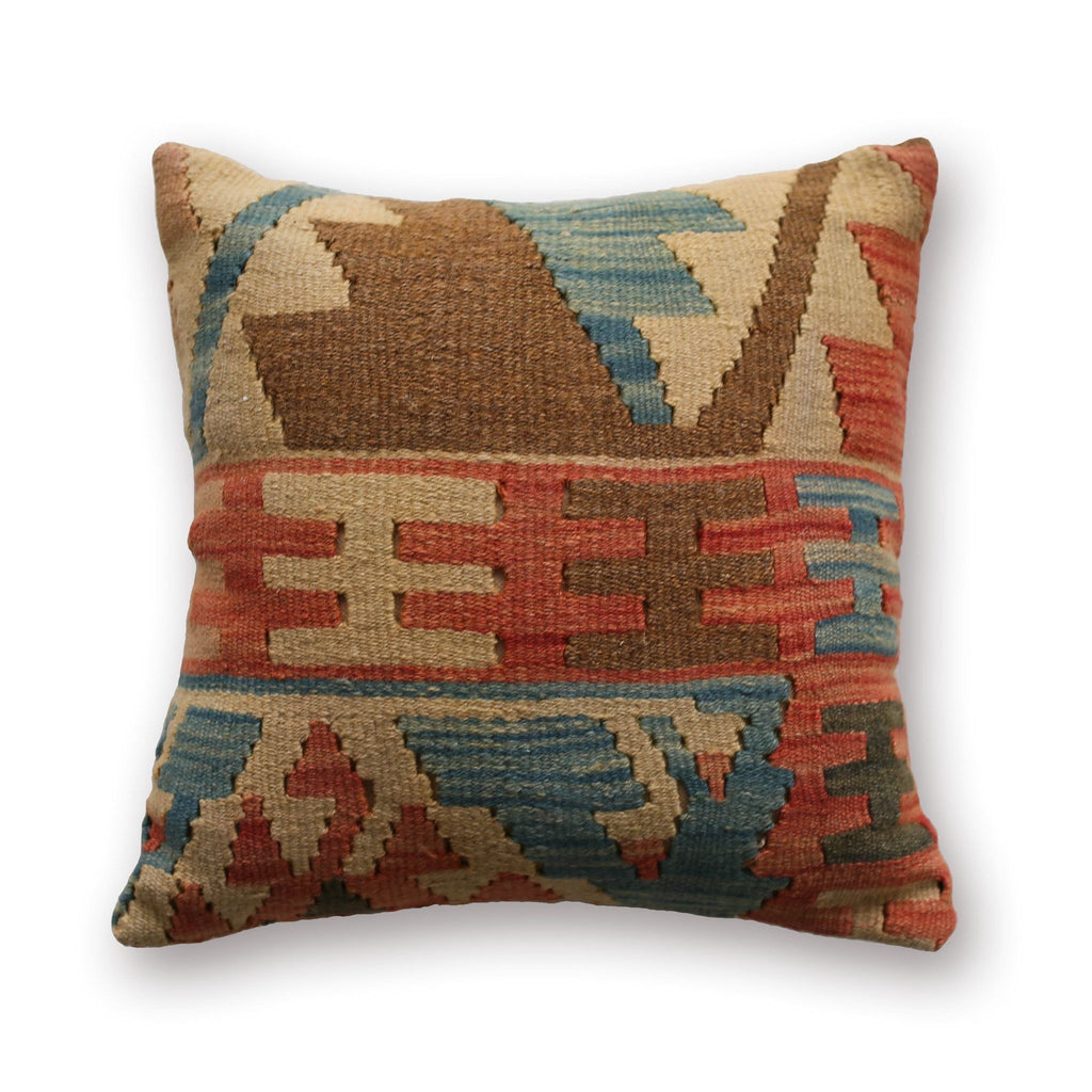 Kilim Pillow No. 04 - Canary Lane - Curated Textiles