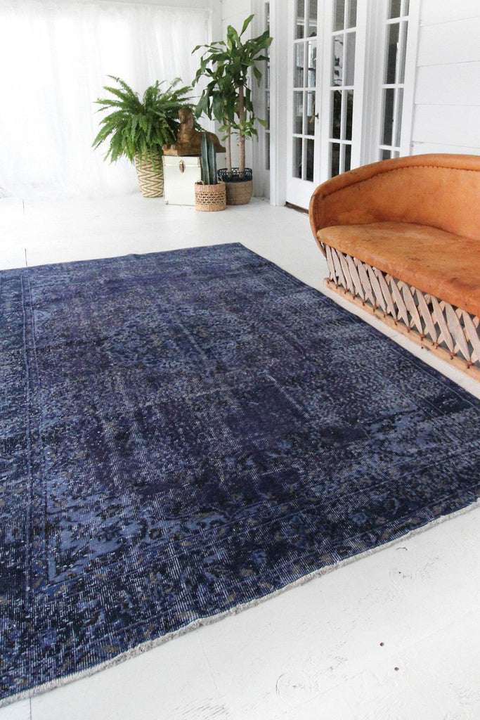 'Violet' Overdye Rug - Canary Lane - Curated Textiles