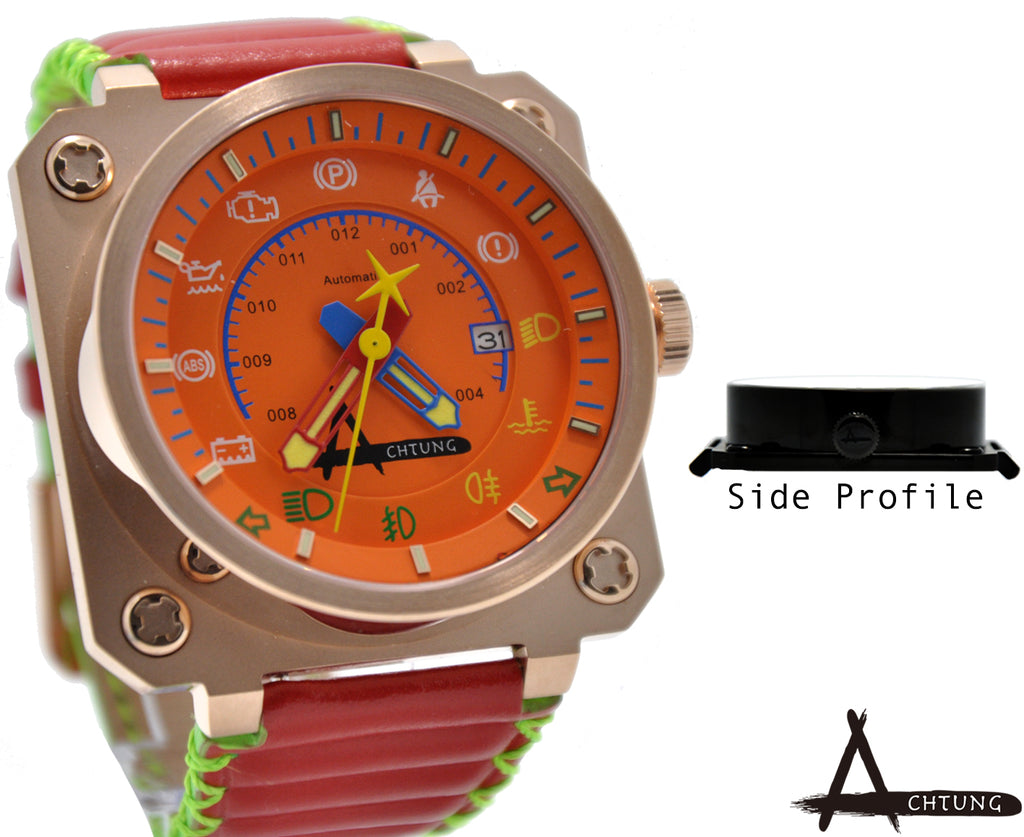 Classic Speedo/ Rose gold and Orange