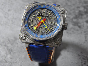 Classic Pave/ Blue