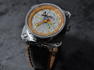 Classic Pave/ Orange