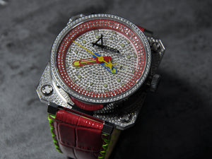 Classic Pave/ Red