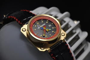 Classic/ Gold and Red