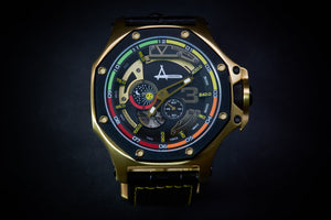 Achtung Turbo3/ Yellow Gold and Black