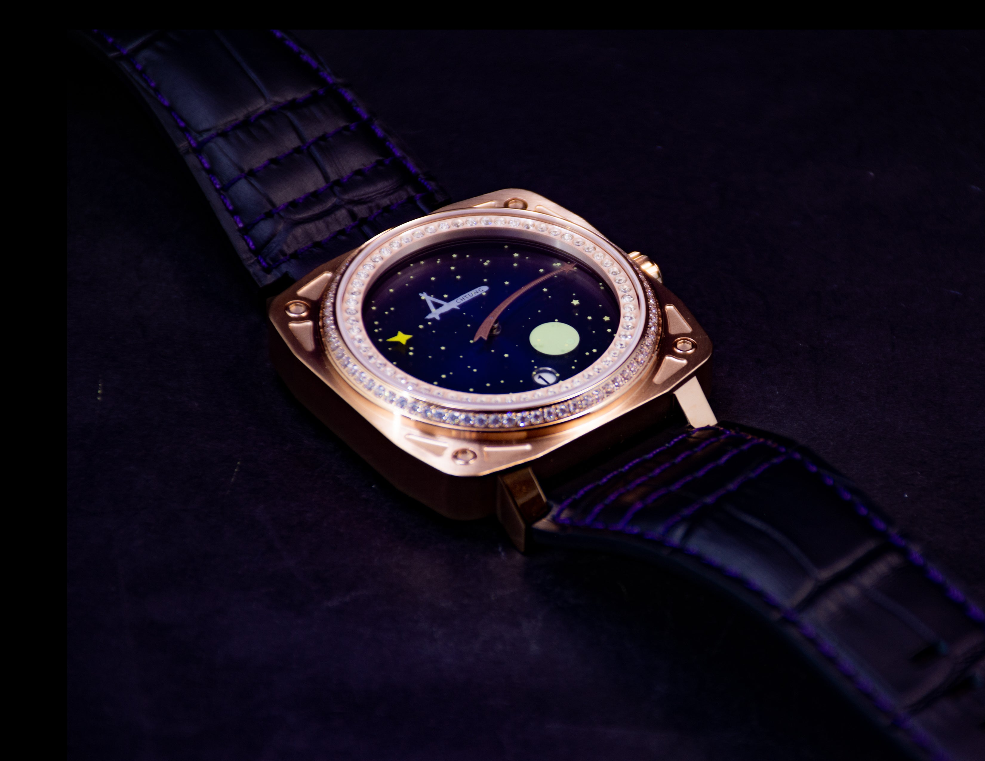 Achtung Galaxy / Crystal Rose Gold