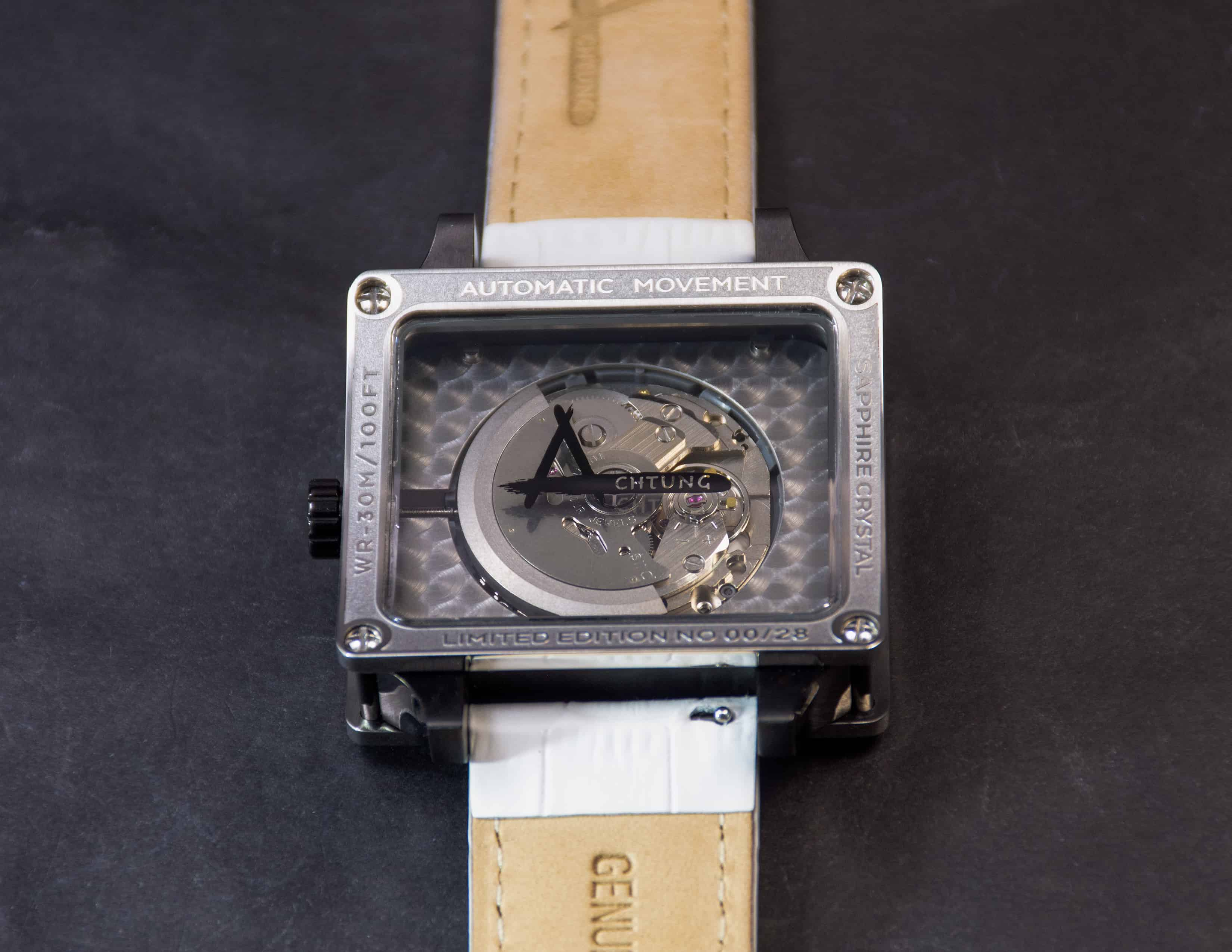 Achtung Timebox Stainless Steel / Black