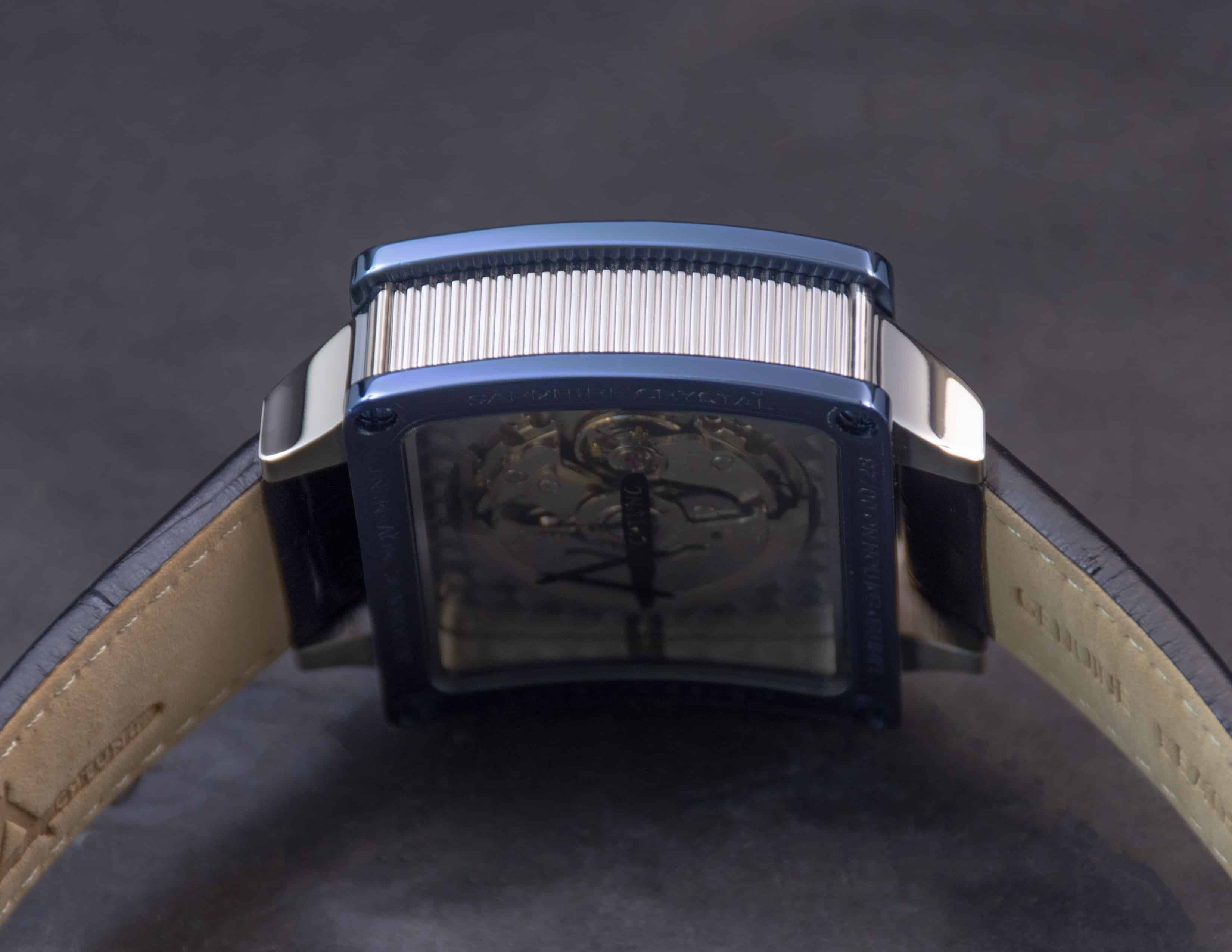 Achtung Timebox Blue / Stainless Steel