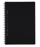 Kokuyo Notebook -SoftRing A5 6mm Ruled Black