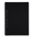 Kokuyo Notebook -SoftRing B5 5mm Sections Black