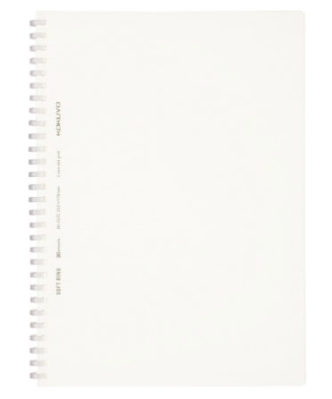 Kokuyo Notebook -SoftRing A5 6mm Ruled White