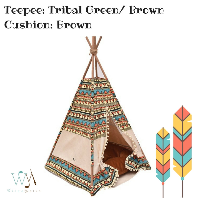 ... Pet Bed Teepee Tent Tribal Design ...  sc 1 st  WilaaMalin Teepee & Pet teepee/tent: tribal design (pet dog cat beds design furniture ...