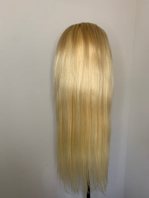 Blonde/#613 Closure Wig