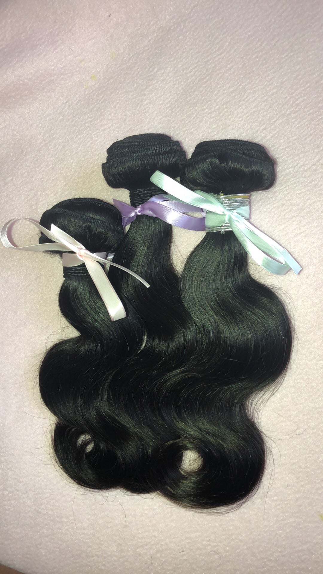 Brazilian Body Wave 3 Bundle Deal (Mixed Length)