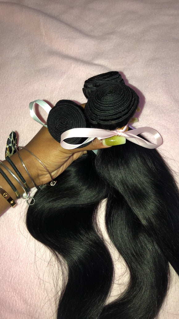 Brazilian Straight 3 Bundle Deal (Mixed Length)
