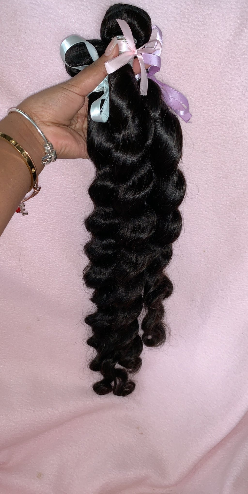 Brazilian Loose Deep Wave 3 Bundle Deal (Mixed Length)
