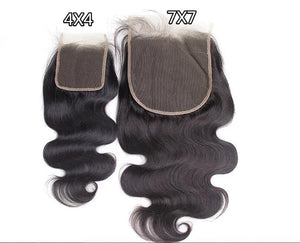 Transparent 7x7 Lace Closure