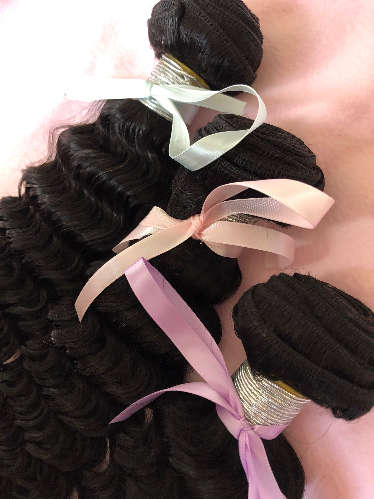 Brazilian Deep Wave 3 Bundle Deal (Mixed Length) - Elyse Bundles & Co.