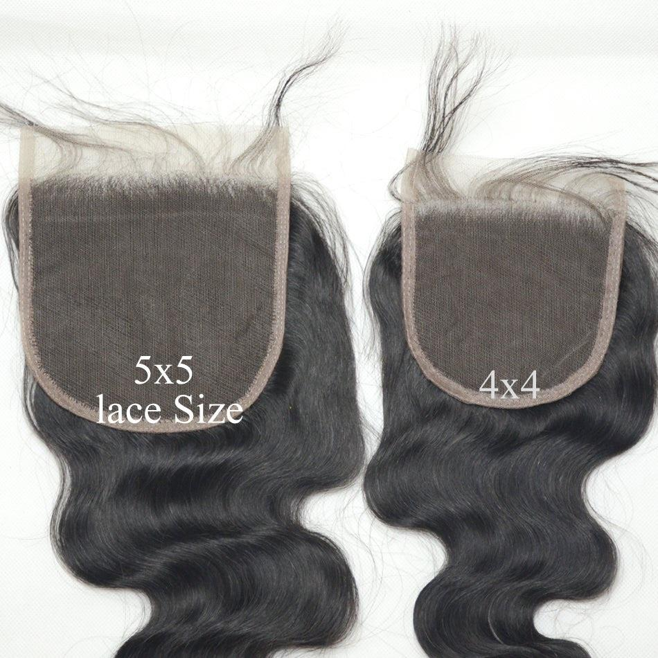 Transparent 5x5 Lace Closure