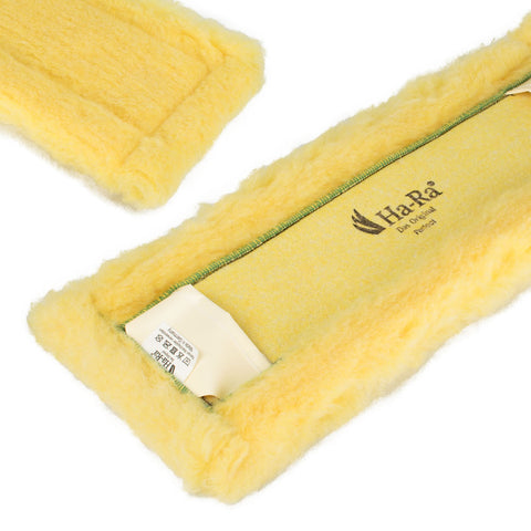 Ha-Ra Floor Cleaning Pad - Dry Fibre - Yellow