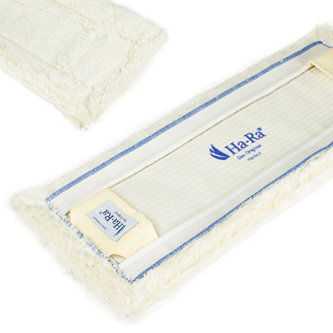Ha-Ra Floor Cleaning Pad - Wet Fibre - White Short