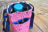 Cool Caddy Bottle Holder - Doggy Print - Pink