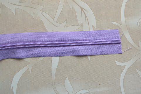 #5 Zipper - Lavender Color