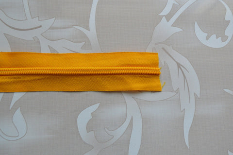 #5 Zipper - Mango Yellow