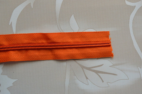 #5 Zipper - Orange