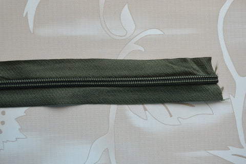 #5 Zipper - Green / Military Green