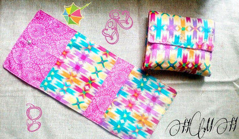 She Pouch Pattern Pieces - Free