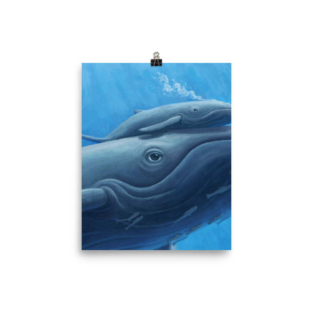 I whale Always Love You: Poster