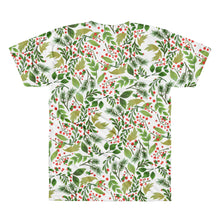 Floral: Short sleeve men's t-shirt