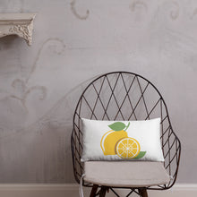 Lemon Life: Square Pillow