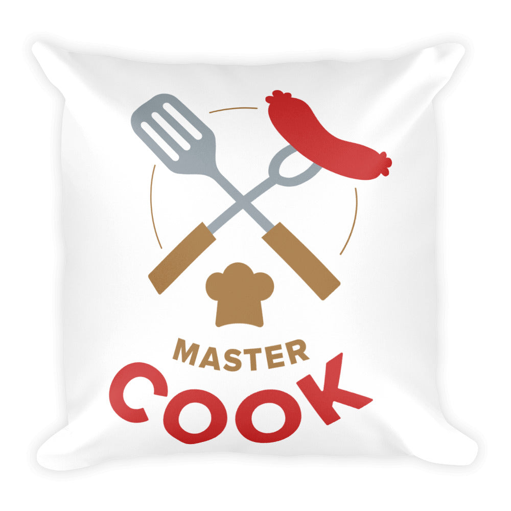 Master Cook: Square Pillow