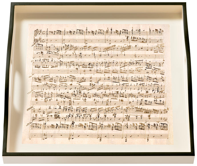 Music Mozart, small cream tray