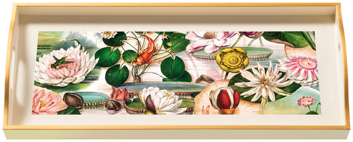 Waterlily, sandwich cream tray