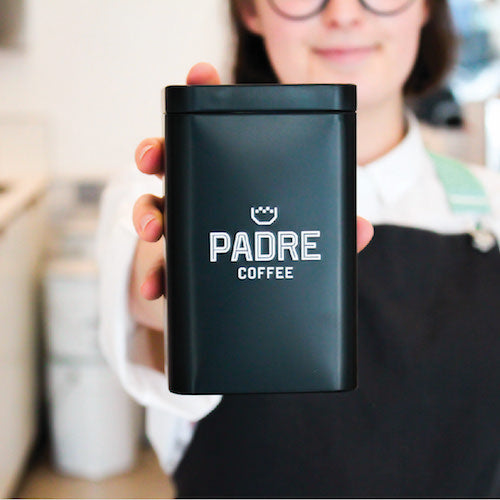 Padre Retail Coffee Tin 250g